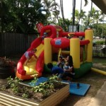 Childcare jumping castle
